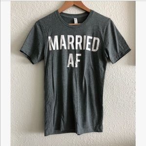 Married AF t-shirt sz: S